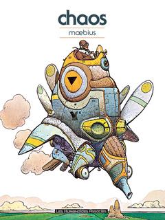Mœbius Œuvres - Numérique : Chaos - Recueil d'illustrations