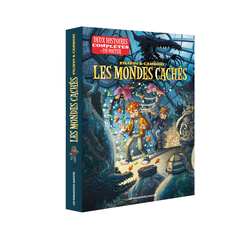 Les Mondes cachés - Coffret de Noël : Tomes 1 & 2 (+ poster)