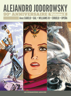 Jodorowsky 90 ans T2 : La Saga d'Alandor - La Passion de Diosamante